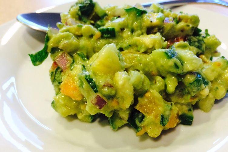 Colorful Guacamole