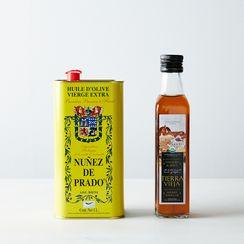 Organic Spanish Olive Oil & Sherry Vinegar Set