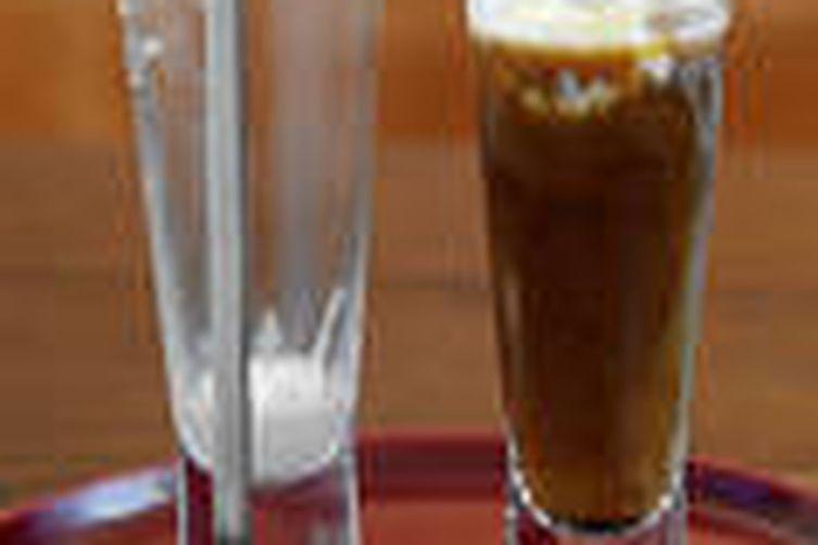 Café Glacee (Coffee and Vanilla Ice Cream Cocktail)