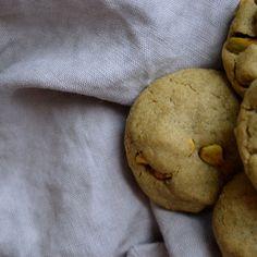 Pistachio Matcha Cookies