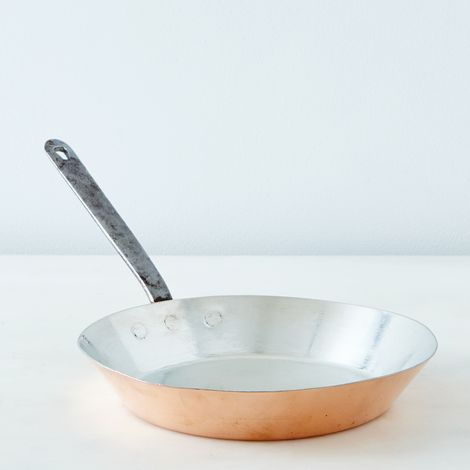Vintage Copper Omelette Pan, Mid 19th Century