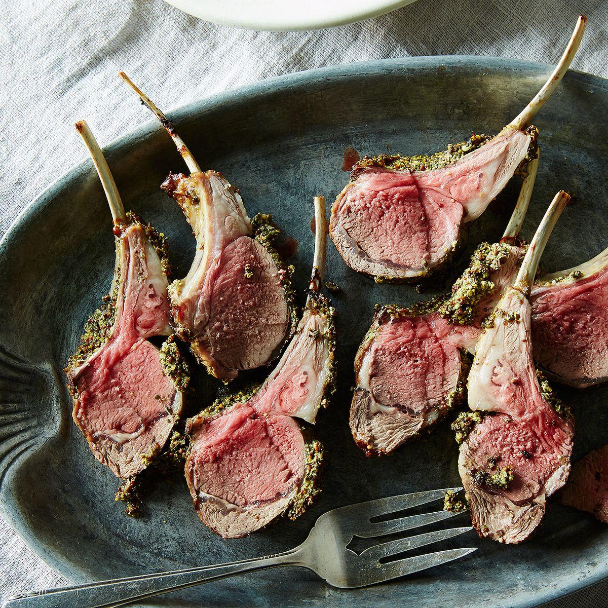 lamb shoulder chop recipe gordon ramsay Herb and Mustard-Crusted Rack of Lamb