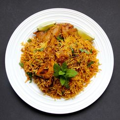 Chicken Biryani for the Instant Pot