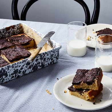 Cocoa Mascarpone Bars
