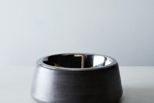 Hand-Crafted Concrete Pet Bowl