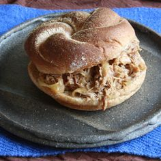 Pulled Pork with Sweet and Hard Cider
