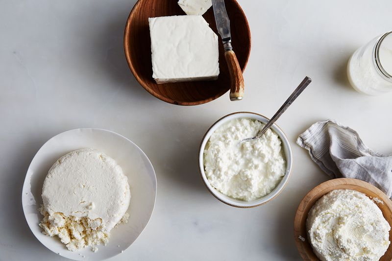 These four cheeses were made of the same ingredients. Cool, huh?