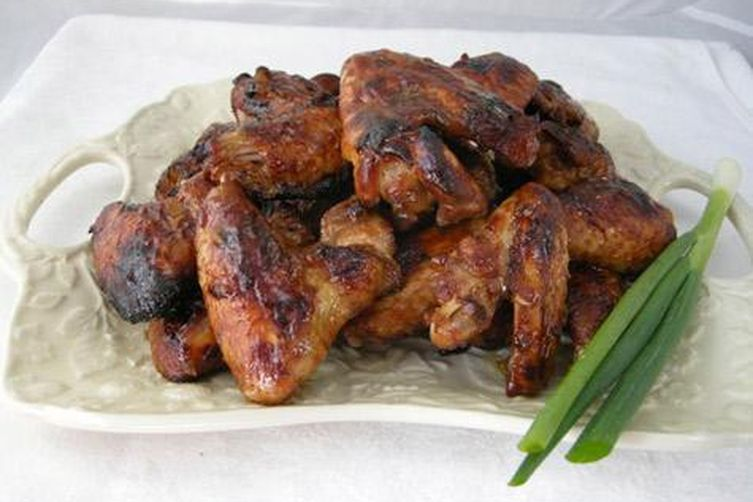 Asian Baked Chicken Wings
