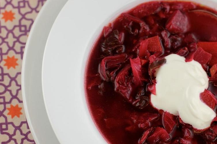 Winter Beet and Vegetable Soup
