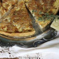 Sweet Onion Tart With Montasio