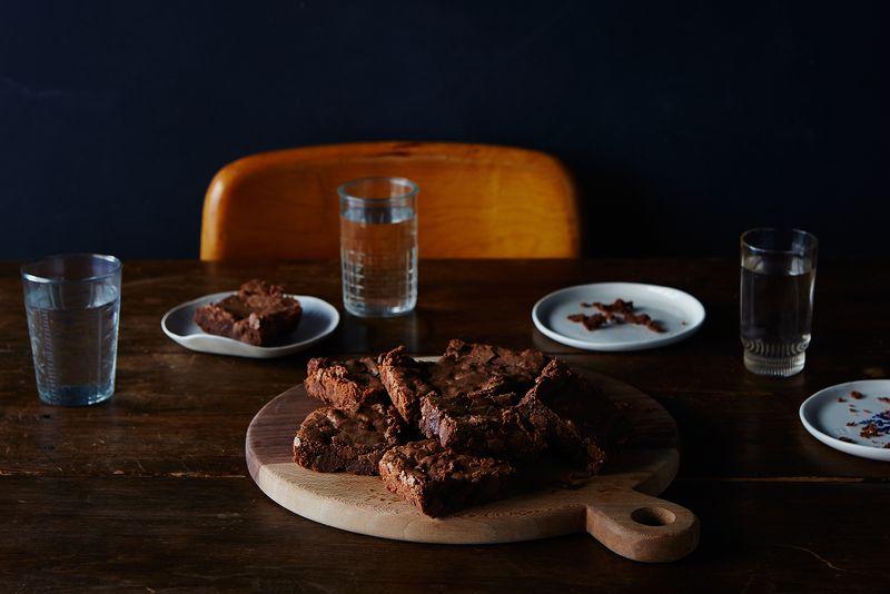 Mario Batali's Double-Chocolate Pot Brownies
