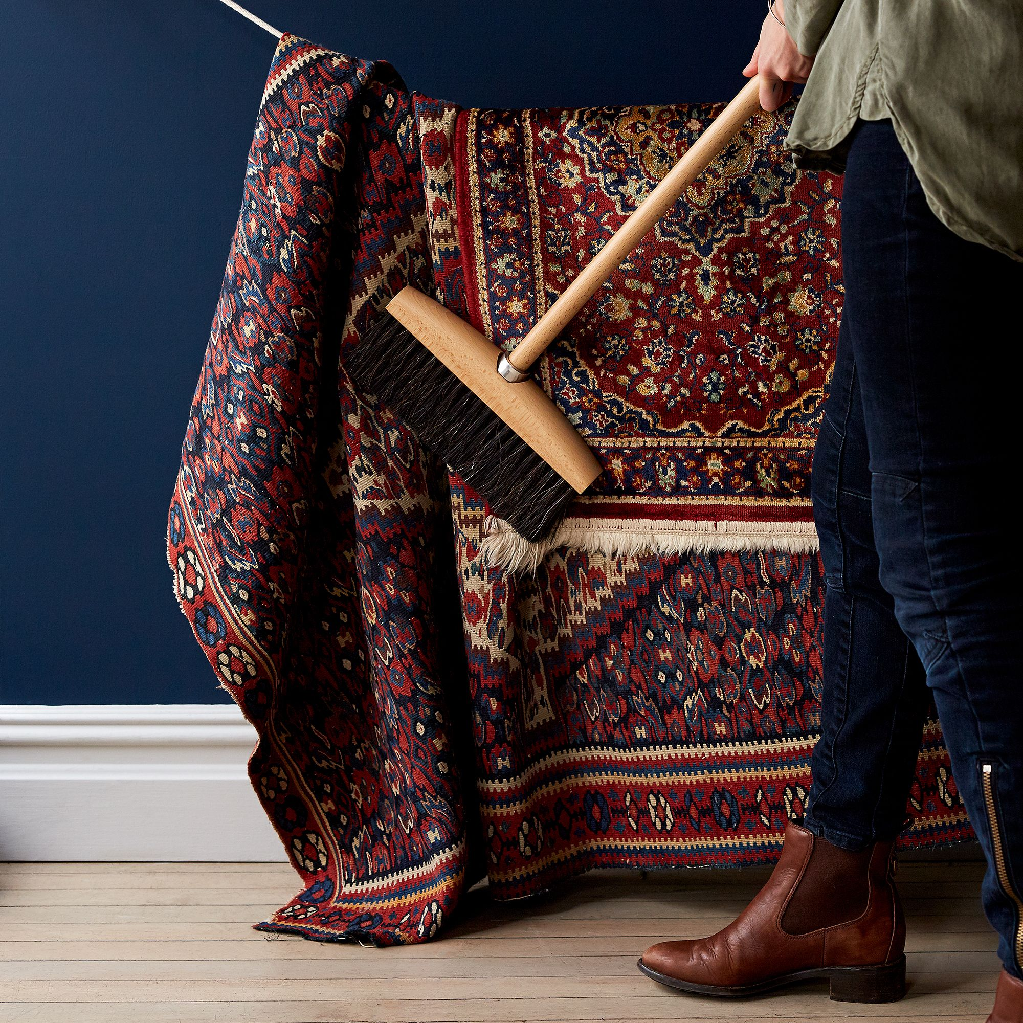Here's How to Care for a Wool Rug So it Lasts & Lasts