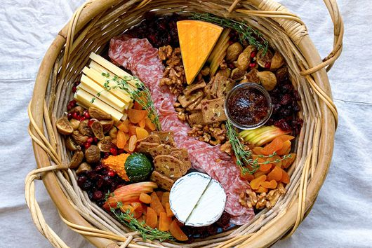 Festive Cheese Basket
