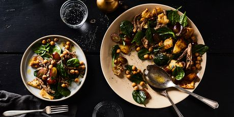 You'll want to put the crispy naan croutons in everything.