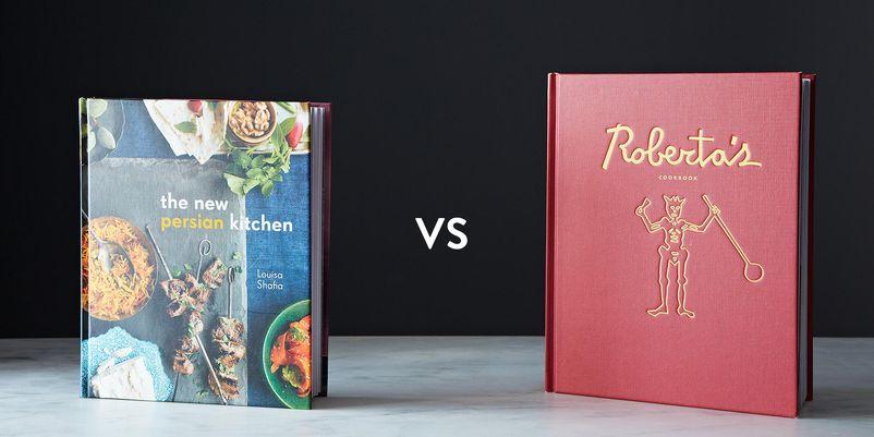 The New Persian Kitchen  vs. Roberta's Cookbook