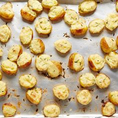 Twice-Baked Mini Potatoes Recipe