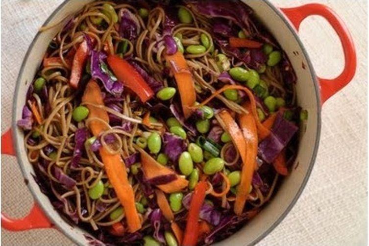 Soba Noodle Summer Salad Recipe on Food52