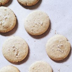 Salted Vanilla Bean Cookies