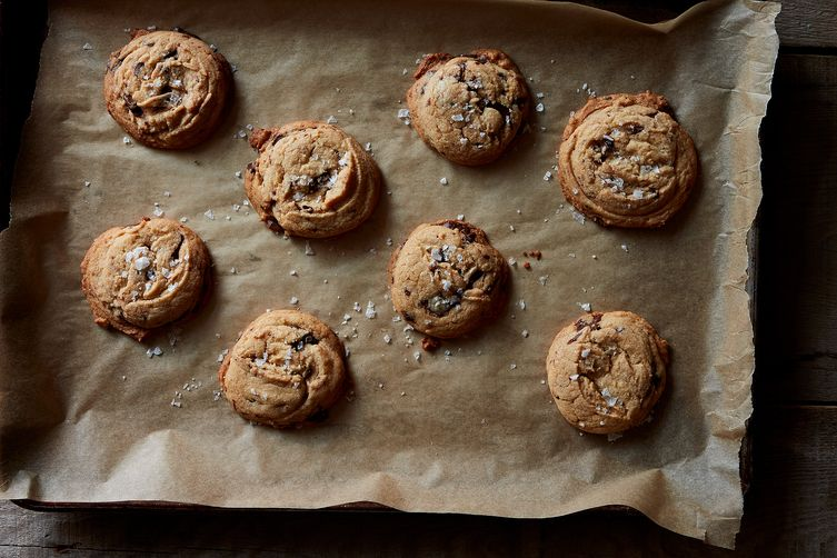 Danielle Oron's Salted Tahini Chocolate Chip Cookies