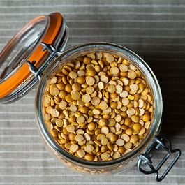 Chana Dal with Golden Raisins