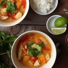 Thai Lemongrass Coconut Soup