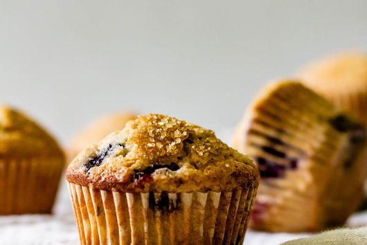 Lavender Wild Berry Muffins