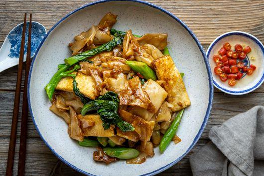 Pad See Ew With Tofu