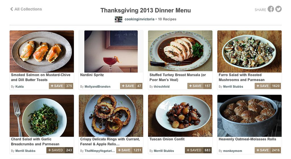 Thanksgiving Collections