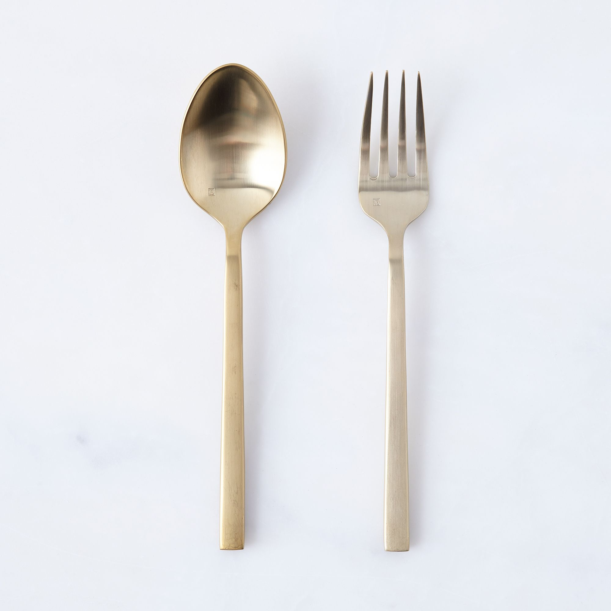 Arezzo Serving Set Brushed Gold