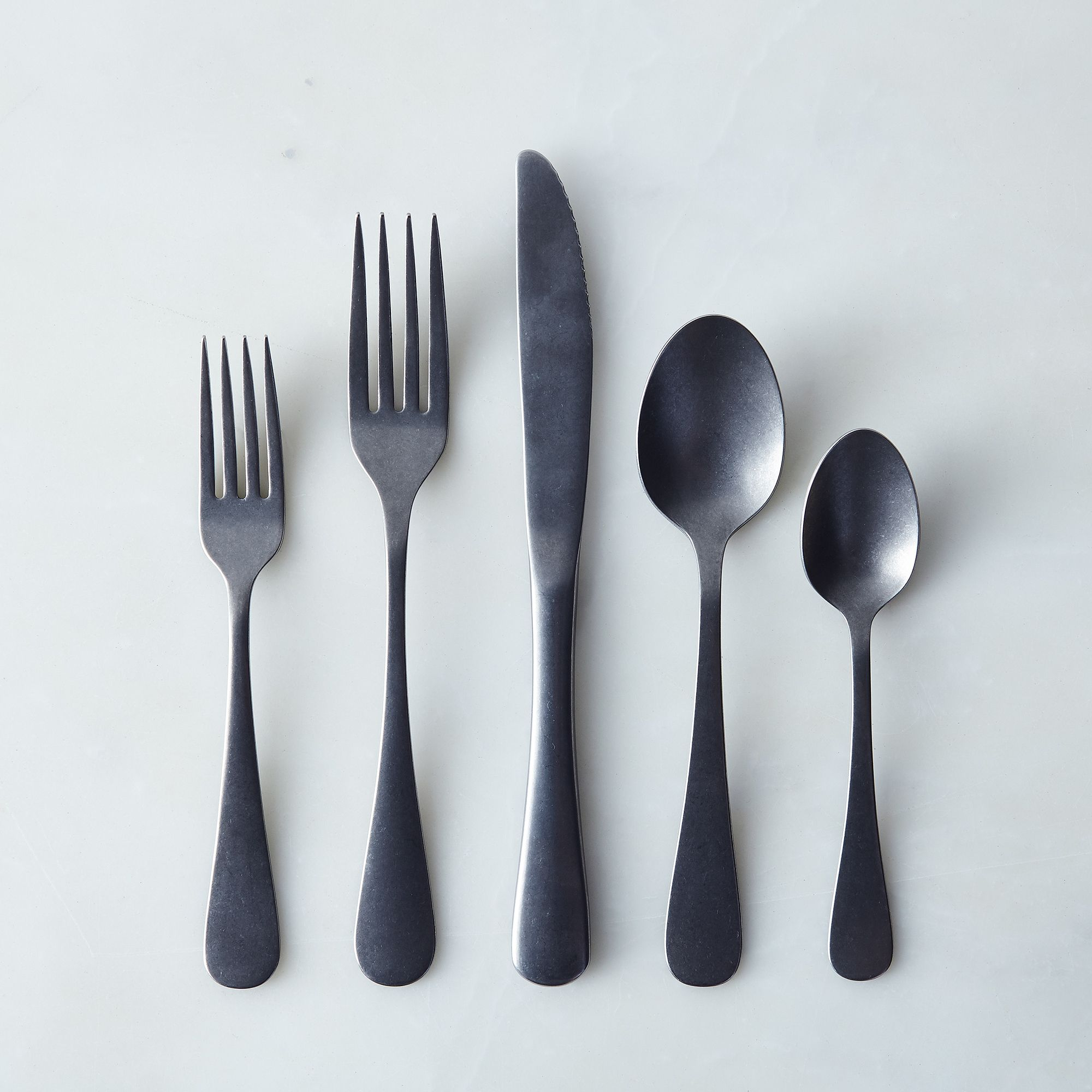 American-made Woodstock Flatware 5-piece Place Setting