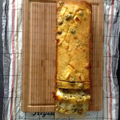 Olive & Feta Loaf cake