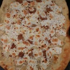Spicy White Pizza