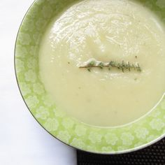 Cauliflower Leek Soup