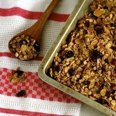 Maple, Almond, and Cranberry Granola