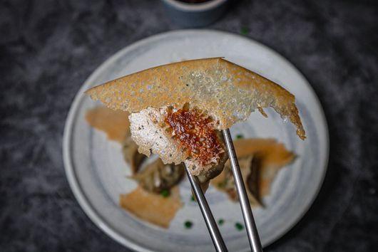 Vegan Crispy Wing Gyoza