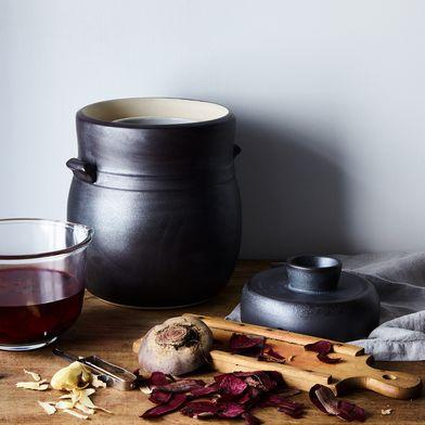 Handmade Ceramic Fermentation Jar