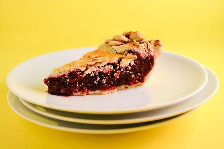 Blackberry Sage Pie
