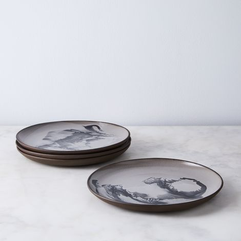 Squid Dinner Plates (Set of 4)