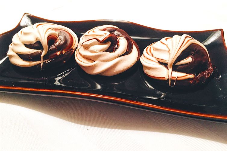Chocolate Swirl Meringue Cookies