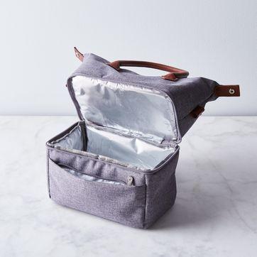 insulated flower picnic bag lunch bag Breakfast bag Petit Pan food bag