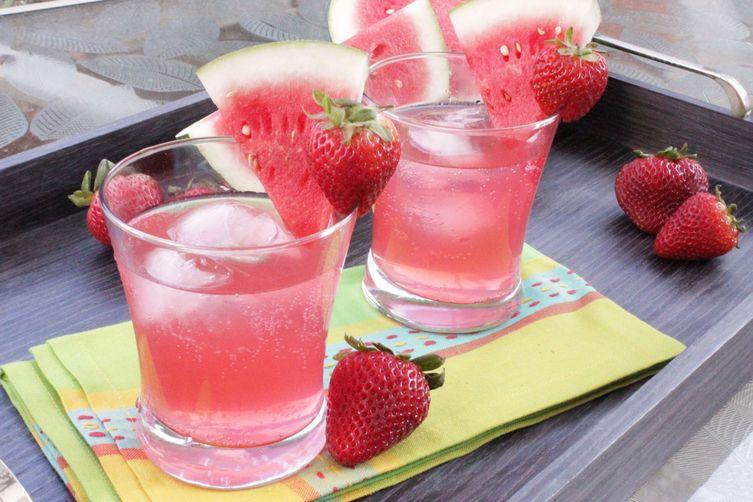 Strawberry Watermelon Refresher
