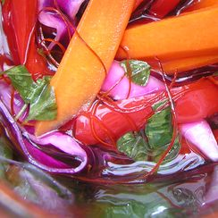 Pack a peck of voilà, pickled peppers