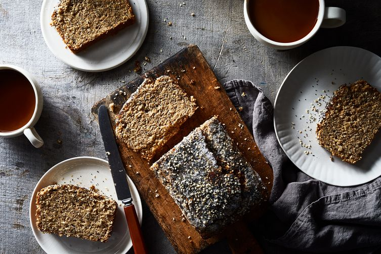 Seeded Whole-Wheat Banana Bread