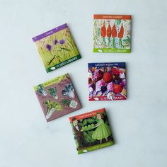 Seasonal Seed Collection (Set of 5)