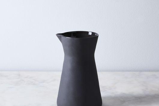 Cobbled Stoneware Pitcher