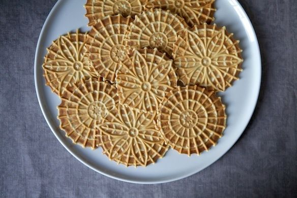 Meyer Lemon Pizzelle on Food52