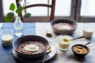 Champorado (Filipino Rice Porridge with Dark Chocolate)