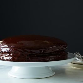 Vegan Chocolate Layer Cake