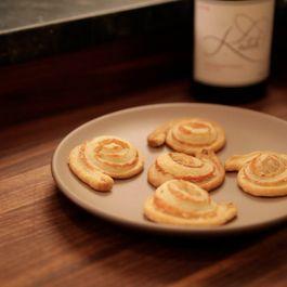 10 Minute Parmesan and Mustard Pinwheels