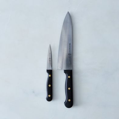 Essential Carbon Steel Parer & Chef's Knife Set